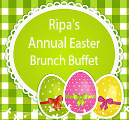 Ripa's Annual Easter Lunch Buffet